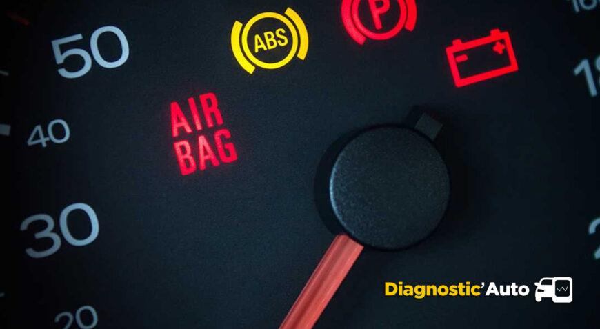Analyse et effacement voyant airbag